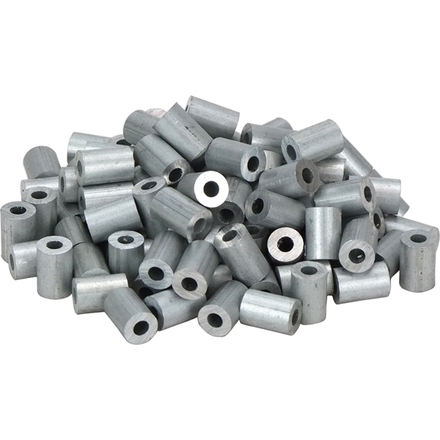 Din round aluminium swages for wire