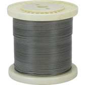 Pvc coated 1 x 19 construction stainless steel wire 304 grade