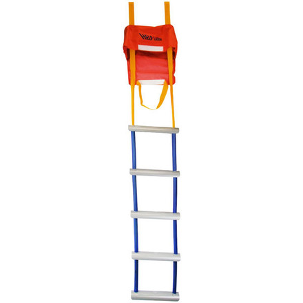 Five steps emergency ladder
