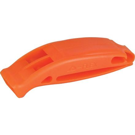 Plastic pealess whistle