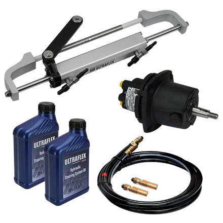 Hydraulic steering kit 115hp ultraflex