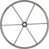 Highly polished stainless steel flat no dish wheels parallel shaft