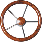 Ultraflex v62 and v67 non magnetic stainless steel wheels with mahogany grip 83706