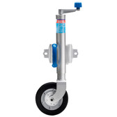 Zinc plated heavy duty jockey wheel