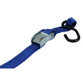 Double strap v formation cam buckle tie down