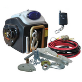 Electric Boat Trailer Winch - Remote Controlled