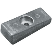 Block zinc anode 77mm