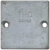 Zinc anode plate 63mm