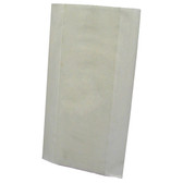 White rubber squeegee