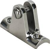 Stainless steel deck mount - Curved Base