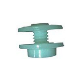 Wide flange screw with nut
