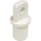 Plastic tube end 25mm