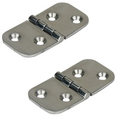 Cast low profile hinge - Pair