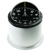 Deck mount binnacle marine compass white