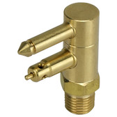 Male Brass Fuel Tank Fitting Mercury
