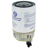 Mercury Fuel Filter with Clear Bowl