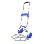 Folding dock cart hand trolley