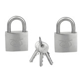 Stainless steel padlock keyed alike padlocks