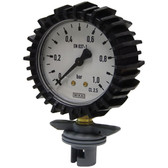 Stainless Steel Pressure Gauge with Rubber Jacket