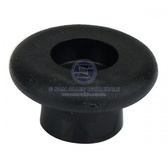 Black Shock Cord button