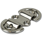 Cast stainless steel folding pad eyes 316 grade