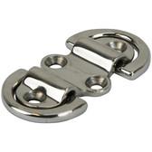 Cast stainless steel folding pad eyes 316 grade