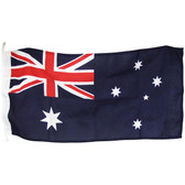 Australian national red ensign flags