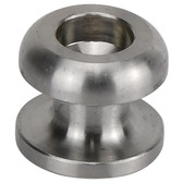 Stainless Steel Cord Button