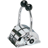 Ultraflex low profile top mount chrome plated controls dual function