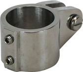 Stainless steel tube end clamp