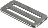 Stainless steel webbing adjustment buckle