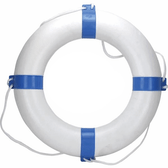 Blue/White Life Buoy Ring