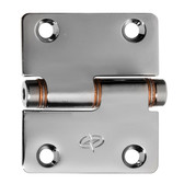 Gemlux flush mounting friction hinges 304g stainless steel