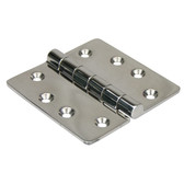 Heavy duty butt hinge 316g stainless steel