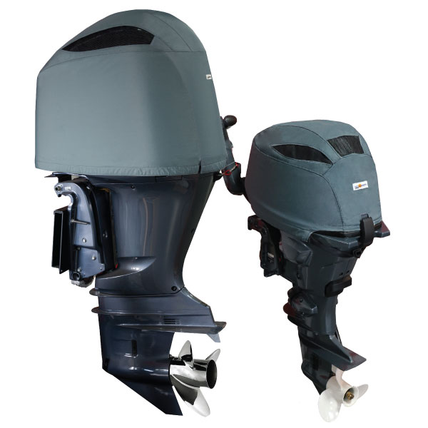 Yamaha Outboard Motor Cover - Vented