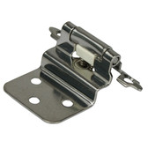 Offset semi concealed hinge 304 stainless steel
