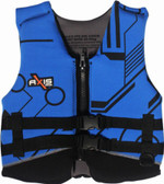 Foam - Approved Neoprene Life Vest - L50S Child and Junior Blue