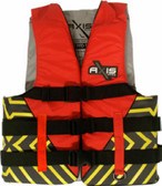 Foam - Approved Nylon Life Vest - L50S Adult Red