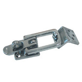 Chrome plated angle mount hatch fastener