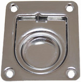 Flush Pull Ring - Rectangular Anti-Rattle