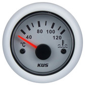 KUS Water Temperature Gauge - White