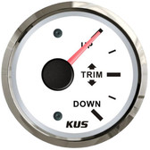 KUS Trim Gauge - White & Stainless Steel