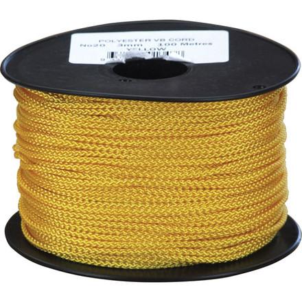 Yellow Polyester VB Cord