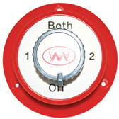Battery Selector Switch - Medium Duty Red