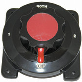 Battery Selector Switch - Heavy Duty Black