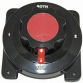 Battery Selector Switch - Heavy Duty Black