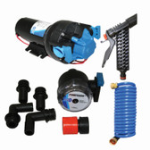 "Jabsco Deckwash Pump & Hose Kit - ""Hotshot"" 5.0 (5.0GPM & 70PSI)"