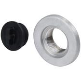 1 1 2 unf nylon plug with cast alloy base