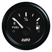 Black Fuel Gauge