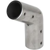 Stainless steel 125 degree tube joiner